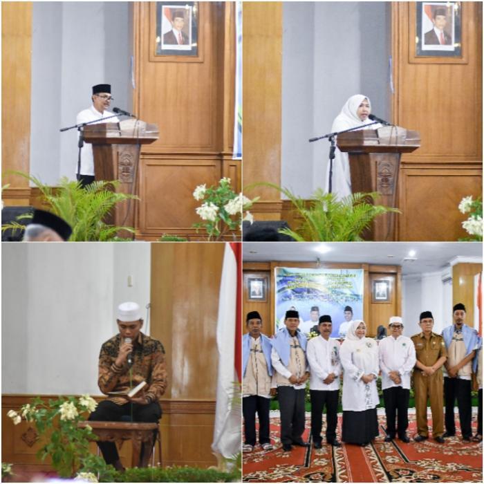 185 Jamaah Calon Haji Asal Muarojambi Resmi Dilepas Bupati Masnah
