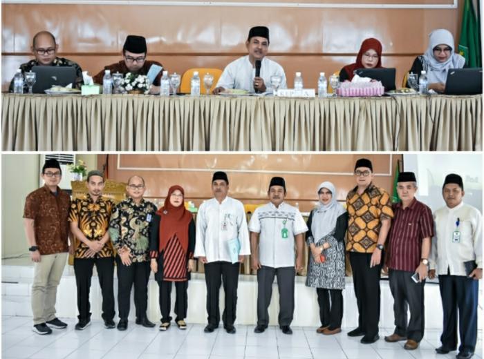 Team Irjen Kemenag RI Gelar Rapat Expose Audit Kinerja