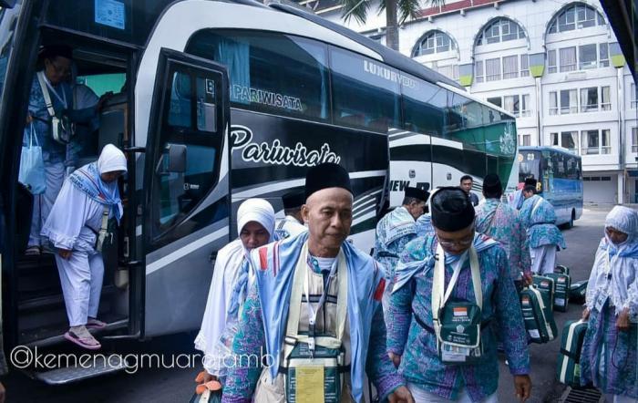 Jamaah Haji Muarojambi Akan Tiba di Tanah Air, Ini Jadwal Pemulangannya